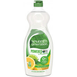 Détergent à vaisselle Naturel Seventh Generation / Citron Gingembre - 739 ml