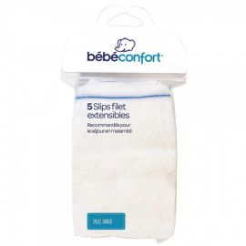 5 Slips Filet Extensibles Bébé Confort
