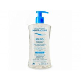 Huile Lavante Relipidante Neutraderm Relipid+ 1L