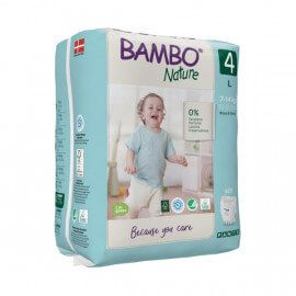 Couches Bambo Nature Culotte d'apprentissage Taille 4 (7-14kg)