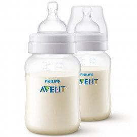 Lot de 2 biberons Avent Anti-colic 260 ml