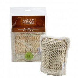 Gant de massage en sisal et coton anti-cellulite 100% naturel Aquamassage