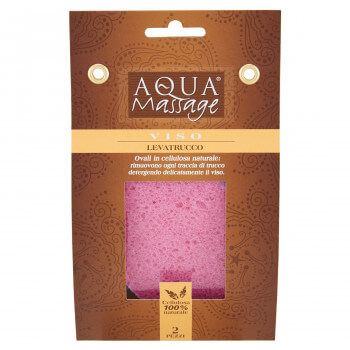2x Eponges Démaquillage 100% Naturelles Aquamassage