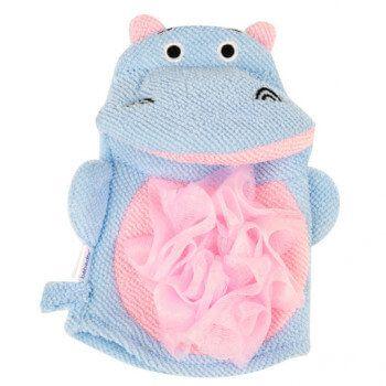 Gant Marionnette de Bain Bébé d'Or - Hippo