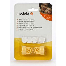 Kit Valves & Membranes - Tire lait Medela