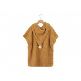 Poncho So Cute 3-5 ans caramel Nobodinoz