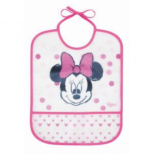 Bavoir PEVA imperméable Minnie 12m+ Tigex