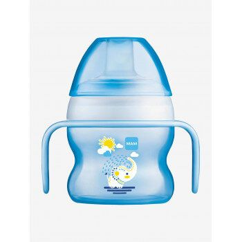Tasse à bec souple Starter Cup Mam 150ml Bleu