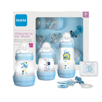 Set cadeau - Welcome to the world Mam Bleu