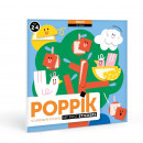 Poppik Stickers 6 Cartes +...