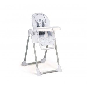 Chaise Haute Pappananna CAM - Ours blanc
