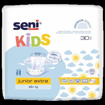 Couches junior Extra 15kg+ Seni Kids 30unités