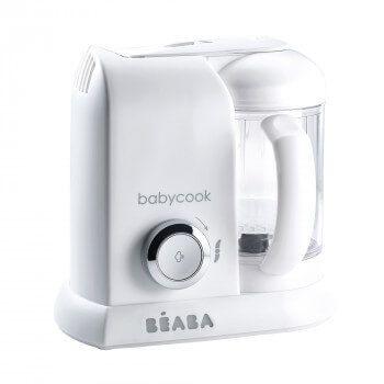 Babycook® Solo White Silver Béaba
