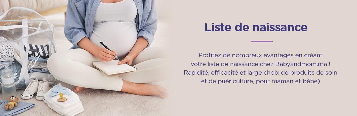 Liste de naissance bébé maroc